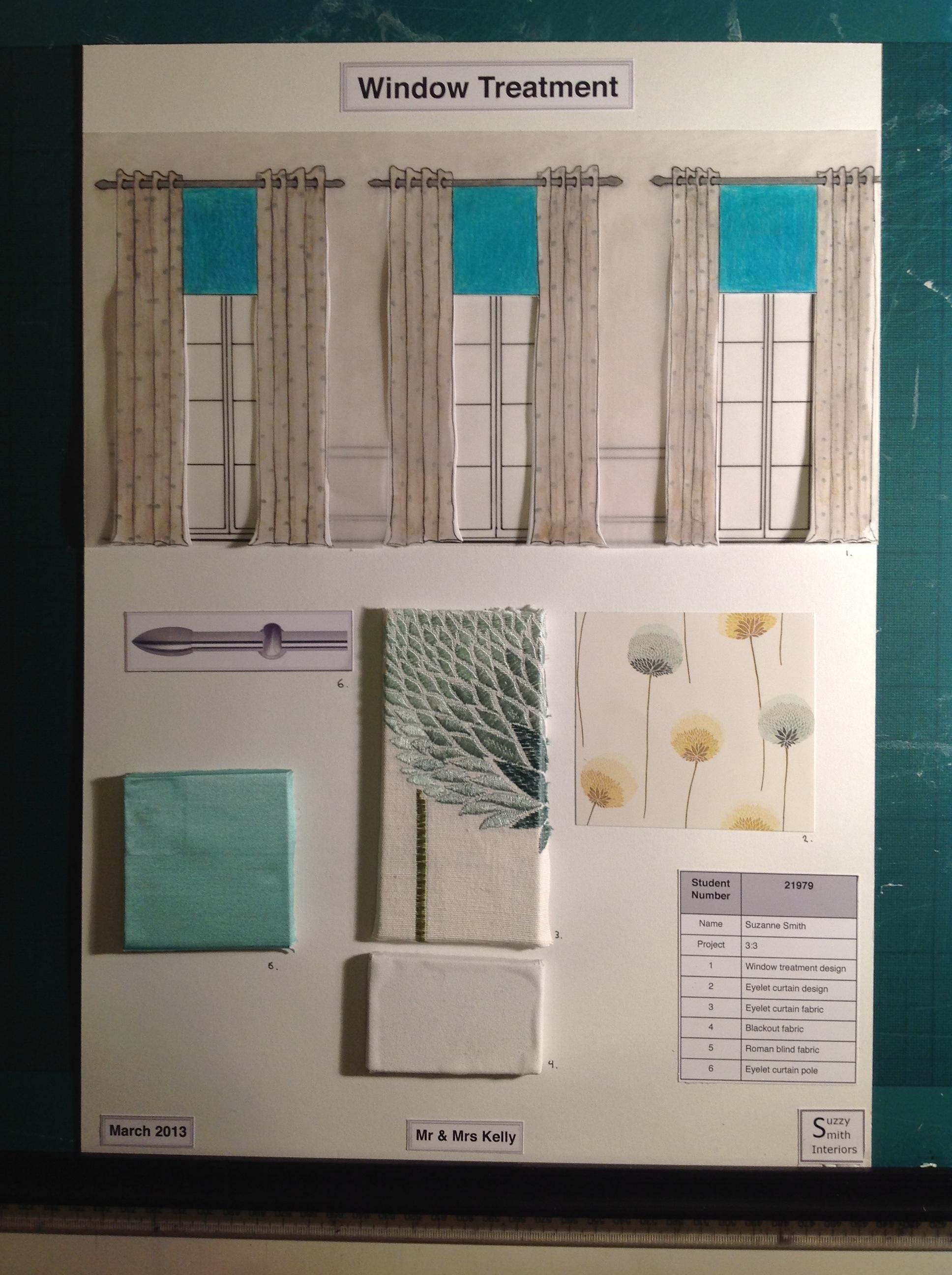 interior design coursework
